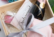 Bridesmaid curated gift box - customisable by Pupabox