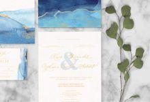 Kevin & Cecilia by Petite Chérie Invitation