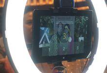 Attika & Bramastra Wedding   Kiosk Photo Booth by Quiccap Photobooth