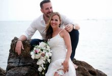 Koh Phangan - Elopement - Romastic Beach Wedding by Phangan Weddings