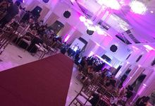 wedding/debu set up by livesound pro sounds and lights