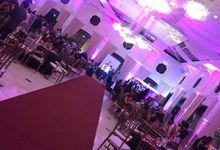 wedding/debu set up by livesound pro sounds and lights