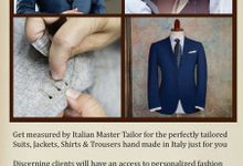 Custom tailored Wedding Suit from Italy by Uomo Collezioni
