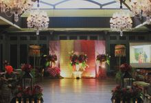 Bugis Colonial Wedding - Arini & Arfan by Kalea Decoration