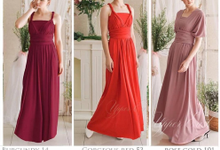 Infinity dress catalog by upper east bridesmaid