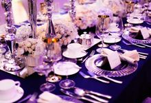 See You At Midnight. Navy Blue And Silver Romance. by Eye Candy Manila Event Styling Co.