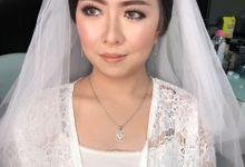 Wedding Makeup for Nita by VM Makeupartist