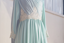 Bridesmaid Dress for Mrs. Penny Agustin by UruliaYashinta Bride