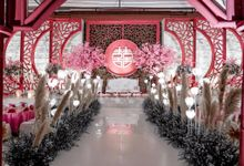 Thony & Sisca  Wedding Decoration by Valentine Wedding Decoration