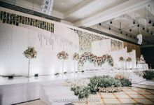 William & Santa Wedding Decoration by Valentine Wedding Decoration