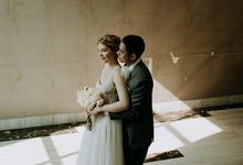 Olena and Jonathan wedding day by Sadajiwa Immagine