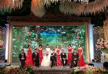 The Wedding Of EDWARD & WANNY by Illusion Entertainment & Organizer