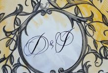 TSAR ALEXADRIA DECADENCE WEDDING SUITE by Crimson Letters
