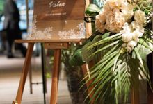 Valen and Mohammed Wedding by Nona Manis Creative Planner