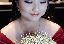 Bridesmaid Hair & Makeup by valentinemakeupart