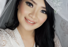 Bride ~ Karen by valentinemakeupart
