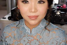 Engagement Day ~ Lorenta Meifanny by valentinemakeupart
