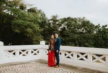 Shan & Vanessa Tea Ceremony and Outdoor Photoshoot by WillieHaz Hair & Beauty
