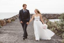 Sara and David by Sandringham Yacht Club