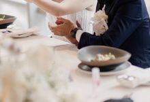 Vania & Herman Wedding at Raffles Hotel Jakarta by AKSA Creative