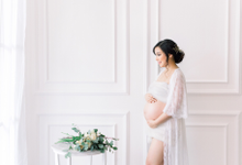 Maternity shoot Ms. Sandy by Vania Prasetya MUA