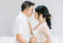 Maternity shoot Ms. Lavi by Vania Prasetya MUA