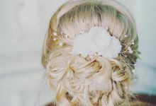 Bridal Headpieces Collection by Fancy Bowtique Bridal Couture