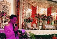 Wedding Reception By Rina Gunawan WO by Chanzy Fauzi MC