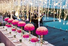 Sample Decoration Dinner by Jc Florist Bali
