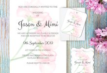 Rose Clutch Wedding Invitation by Gift Elements