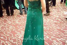 Custom Made Gown by Angela Karina