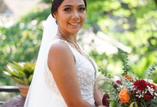 The Wedding of Marco & Marchelina by Alexandra Makeup Artist
