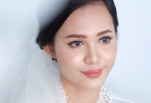 Bride Mrs Maria by Verena Makeup Artist