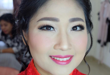 Engagement Mrs Joice by Verena Makeup Artist