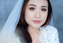 Bride Ms Jeanet by Verena Makeup Artist