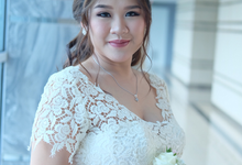 Bride Mrs Clarissa by Verena Makeup Artist
