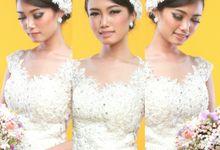 Wedding Photoshoot Portfolio by Nathalia Tjan Makeup