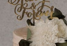 The Wedding of Poppy & Ogen by KAIA Cakes & Co.