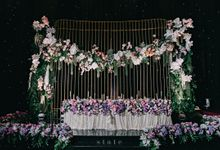 Wedding Dinner - Kevin & Debby by State Photography