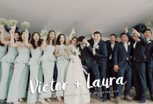 Victor & Laura - Church Wedding Actual Day Cinematic Video by Aplind Yew Production - Wedding Cinematography & Photography