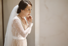 Ratna & Hendra (bride's ROBE) by Vicuna