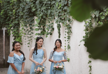 R&H Bridesmaids Dresses by Vicuna