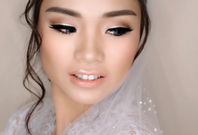 Wedding of Stephanus and Cindy by VIDI Airbrush Wedding make up Artist