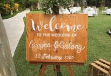 Larryca & Galang by Vido Sim