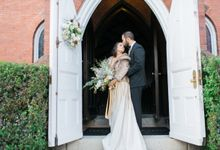 Castle, Doves and The Bay by Vera Wang Brides