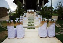 Pool Side and Garden Wedding by The Ritual Bali