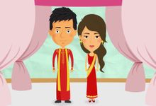 The Love Story of Vinay & Roshni by Frigg Animation