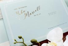 Yuka & Marcell by Vinas Invitation