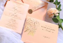 Henry & Claudia by Vinas Invitation