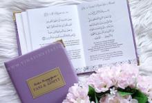 Buku Pengajian Fani & Adhyt by Vinas Invitation